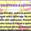 Ďeti pesimista a optimista
