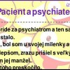 Pacient a psychiater