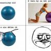 Ako používať gymnastickú loptu