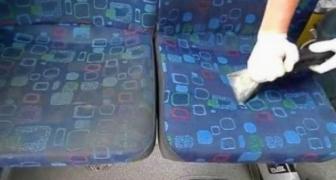 Ako sa čistia sedadlá v autobusoch