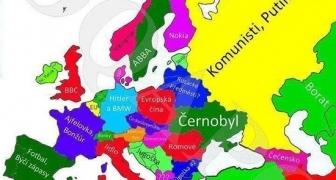 Ako vidia Američania štáty Európy?