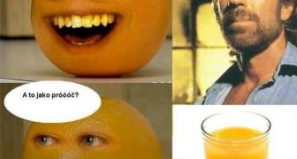 Chuck Norris a Otravný pomaranč