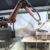 Roboty brúsiace nádherné sochy z kameňa za použitia úžasnej strojníckej CNC technológie
