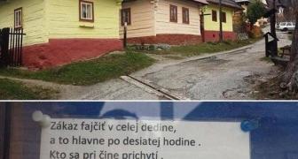 Dedinský zákaz  fajčenia