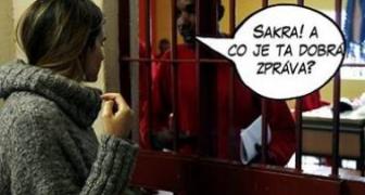 Dobrá a zlá správa pre väzňa