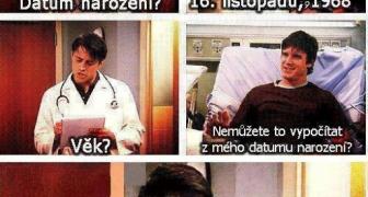 Doktor veru nie je matematik
