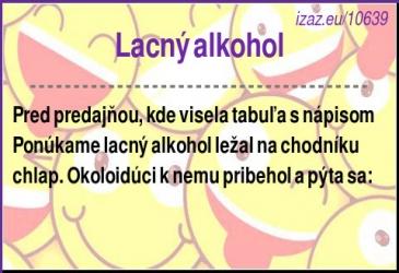Lacný alkohol