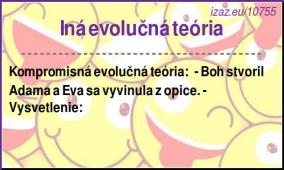 Iná evolučná teória