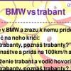 BMW vs trabant