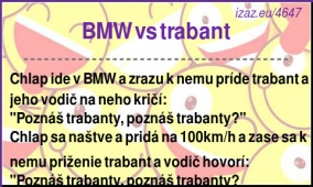 BMW vs trabant