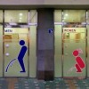 Kresba na pánskych a dámskych WC