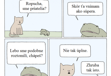 Mačka vs ropucha