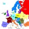 Mapa Európy trochu inak