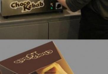 Čokoládový kebab!