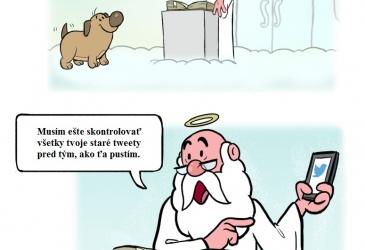 Pes ide do neba