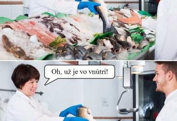 Plastová taška na rybu