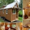 Prenosný drevený domček