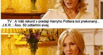 Rozhovor s J.K. Rowlingovou o kreativite Harryho prútika
