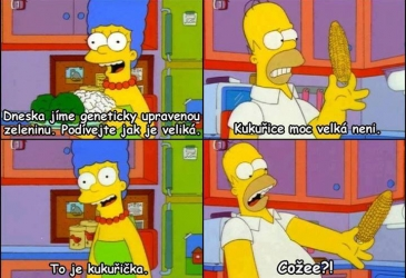 Simpsonovci: Geneticky upravená zelenina