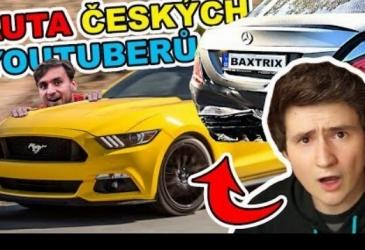 TOP 5 naj áut českých youtuberov