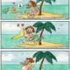 Zaľúbená morská panna a stroskotanec
