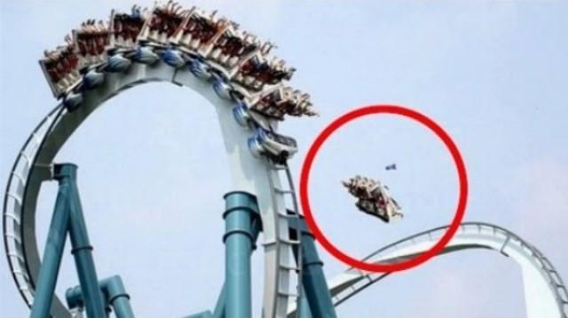 10 šialených nehôd v zábavných parkoch