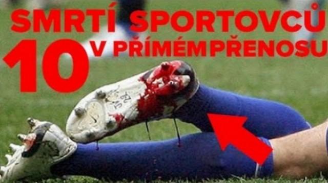 10 smrtí športovcov v priamom prenose
