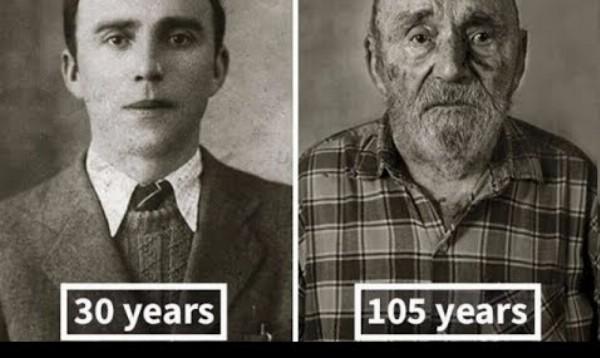 13 porovnaní fotiek ľudí, ktorí dosiahli cez 100 rokov s ich fotkami z mladosti