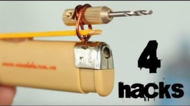 4 šialené nástroje zo zapaľovača, aké ste ešte nevideli