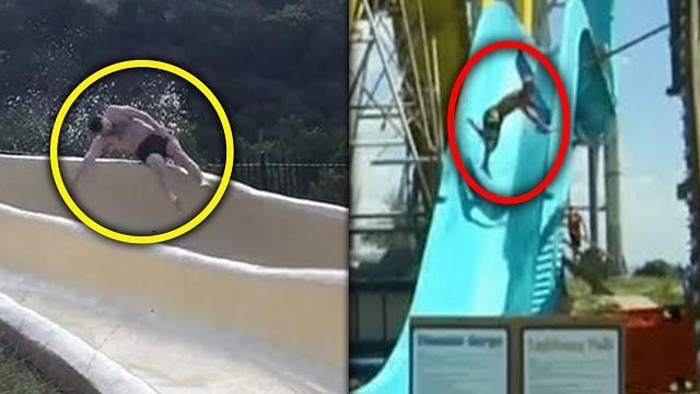 5 nepekných nehôd v aquaparkoch zachytených na kamere