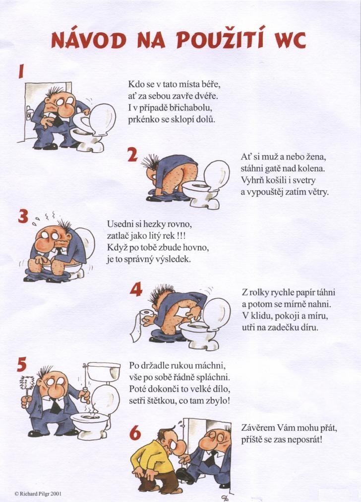 Ako používať WC