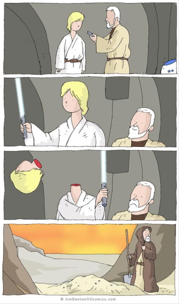 Alternatívny koniec Luka Skywalkera