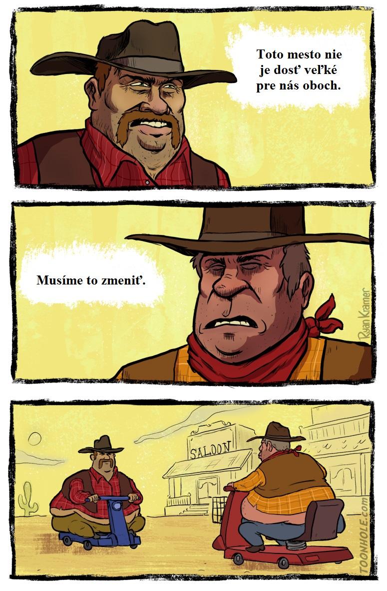 Dvaja kovboji proti sebe