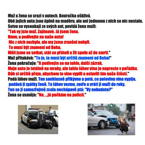 Havária muža a ženy