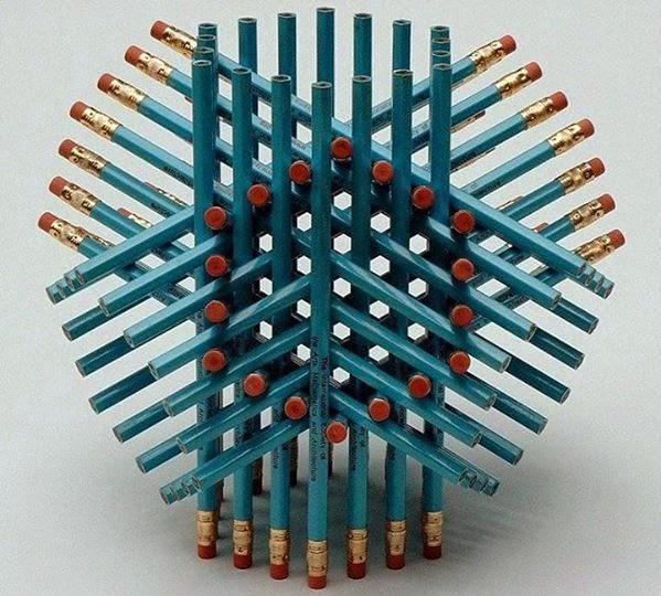 Hlavolam s ceruzkami: Obrázková hádanka
