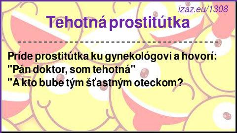Tehotná prostitútka