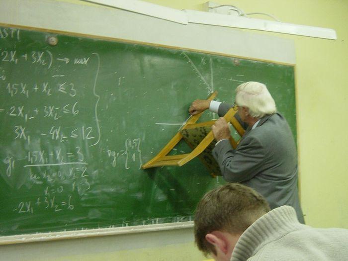 Keď v triede chýba pravítko