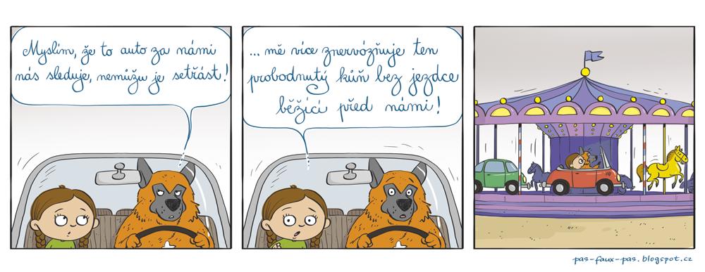 Keď vás sleduje auto