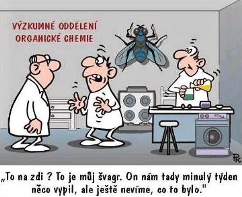 Na výskumnom oddelení organickej chémie