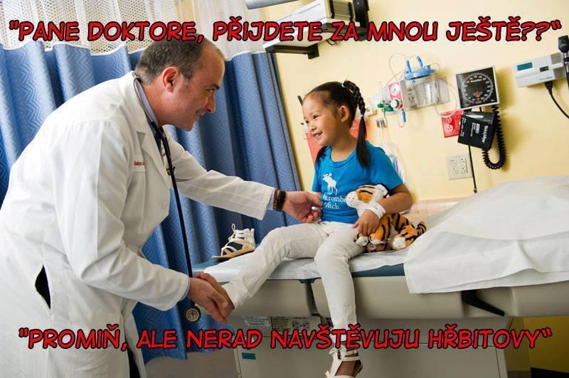 Najčiernejší lekársky humor