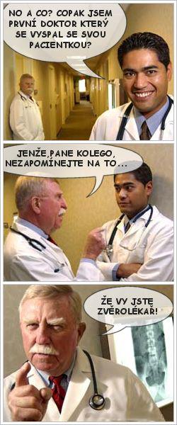 Nie je lekár ako lekár