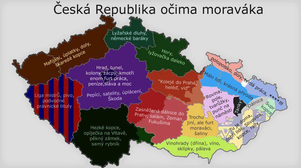 ČR očami moraváka