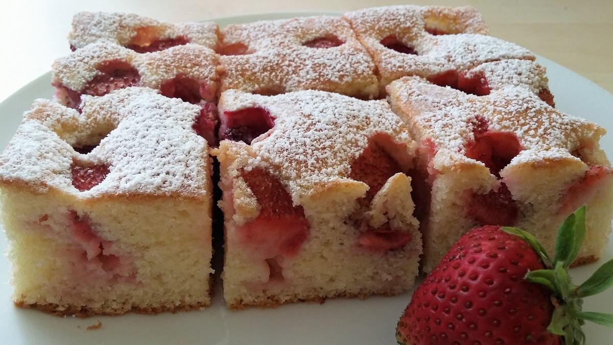 Recept na chutnú jahodovú bublaninu
