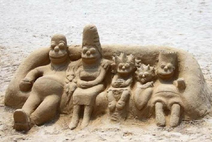 Simpsonovci z piesku