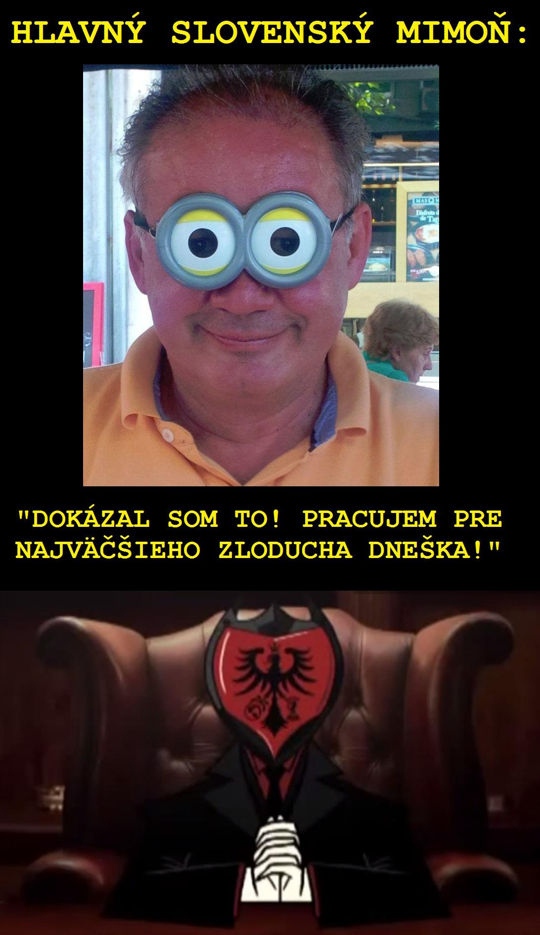 Slovenský Mimoň si splnil sen