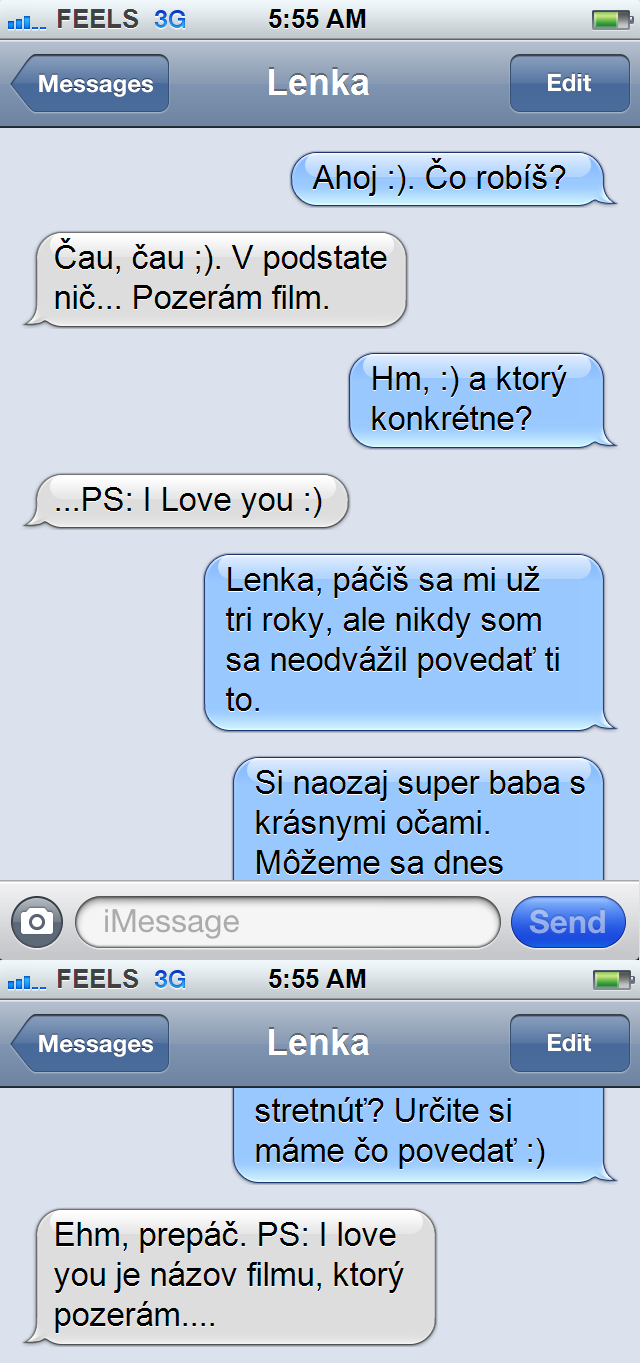 SMS: Film PS: I Love you