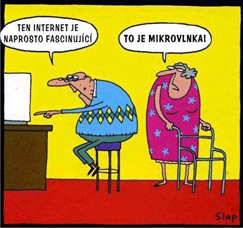 Starší ľudia vs technika