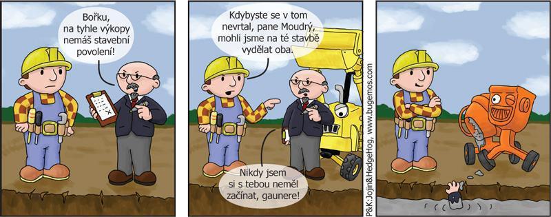 Stavbár gauner
