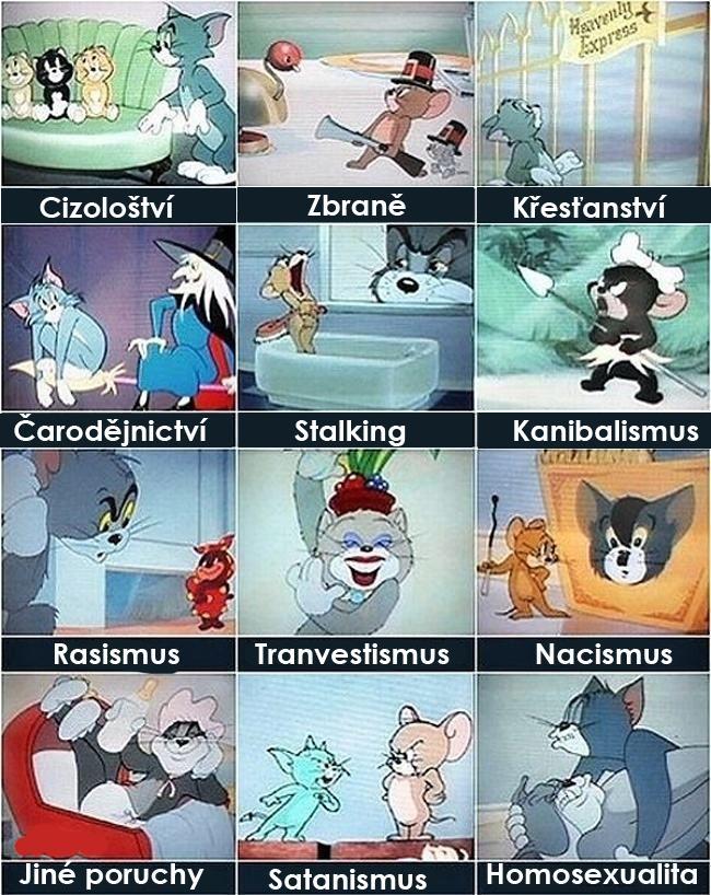 Tom a Jerry a veci zo sveta ľudí