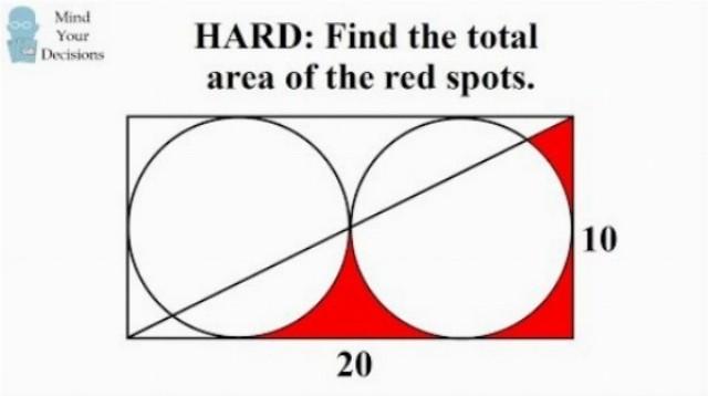 Vyriešite geometrickú úlohu určenú pre čínskych šiestakov?